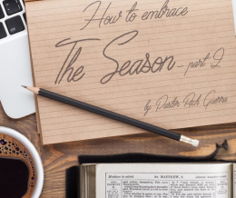 How to Embrace the Season – part 2