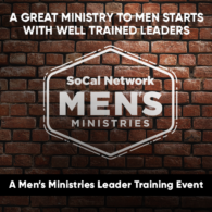 Men's Ministries Leaders Training