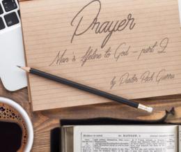 Prayer – part 2