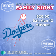Mens Family Night - Dodgers