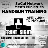 Mens Ministries Handgun Training