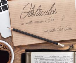 Obstáculos – 3