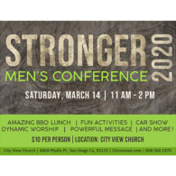 Stronger Men's Conference