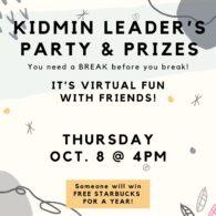 KidMin Leader's Party
