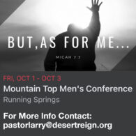 Mountain Top Men's Conference